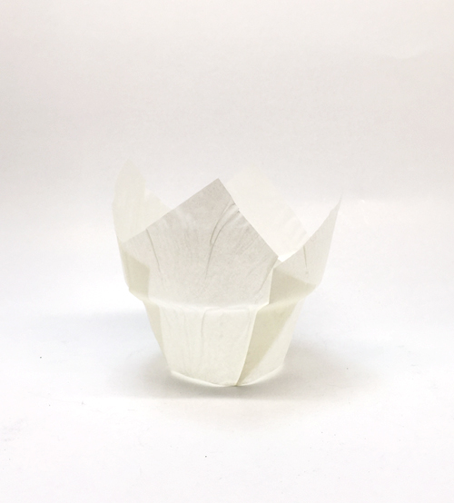 Pasta Malzemeleri - Cup Cake Kalıbı Beyaz