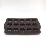 Silikon Çikolata Kalıbı Kalp