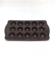 Silikon Çikolata Kalıbı Yuvarlak